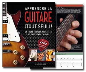 apprendre la guitare tout seul livret dvd de jason sidwell et jamie dickson guitare. Black Bedroom Furniture Sets. Home Design Ideas