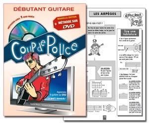 Coup de Pouce - Méthode de guitare pour débutant de Denis Roux & Vincent Arnaldi avec DVD