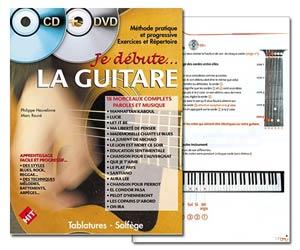 Je débute la guitare de Philippe Heuvelinne & Marc Rouvé - Version avec CD + DVD