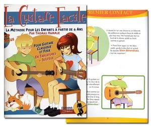 La guitare facile - Méthode pour enfants à partir de 6 ans avec CD de Thomas Hammje