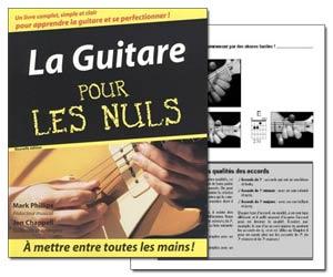 La guitare pour les nuls - Livre de Mark Phillips et Jon Chappell + CD audio