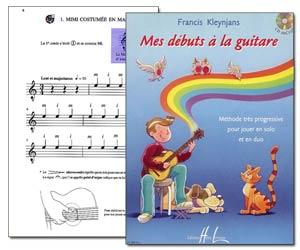 Mes débuts à la guitare de Francis Kleynjans - Livre + CD audio