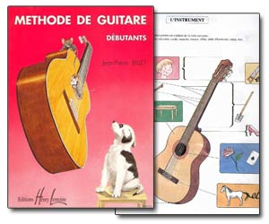 Méthode de guitare débutants de Jean-Pierre Billet