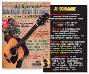 Méthode universelle de guitare pour débutant + CD + DVD de JJ Rebillard