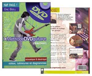 Trop Facile ! - Méthode de guitare pour débutants avec DVD d'Eric Boëll