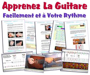 Guitare et Couleurs - Méthode Débutants