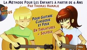 Méthode de guitare pour enfants dès 6 ans par Thomas Hammje