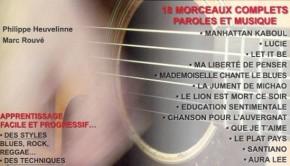 Méthode de guitare de Philippe Heuvelinne et Marc Rouvé
