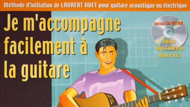 Méthode de Guitare de Laurent Huet avec livre et CD